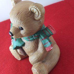 Homco Holiday - Vintage Holiday ceramic bears by Homco Japan